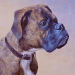 Walter, 10 x 8 Oil on Panel